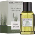 Jeanne en Provence Lavander & Vétiver Eau de Toilette para homens 100 ml
