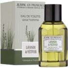 Jeanne en Provence Lavander & Vétiver toaletna voda za moške 100 ml