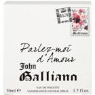 John Galliano Parlez-Moi d'Amour toaletná voda pre ženy 50 ml