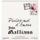 John Galliano Parlez-Moi d'Amour toaletní voda pro ženy 50 ml