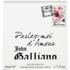 John Galliano Parlez-Moi d'Amour woda toaletowa dla kobiet 50 ml
