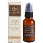 John Masters Organics Dry to Mature Skin odmładzające serum do twarzy z witaminą C