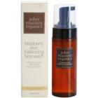 John Masters Organics Oily to Combination Skin čistilna pena za uravnoteženje proizvodnje sebuma