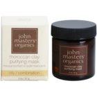 John Masters Organics Oily to Combination Skin masque purifiant visage