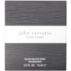 John Varvatos Dark Rebel Eau de Toilette para homens 75 ml