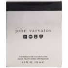 John Varvatos John Varvatos Platinum Edition eau de toilette férfiaknak 125 ml