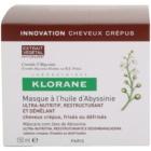 Klorane Crambe d'Abyssinie maska za okrepitev las za valovite lase