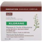 Klorane Crambe d'Abyssinie posilující maska pro vlnité vlasy