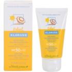 Klorane Kids  lapte de protectie pentru fata si corp SPF50+