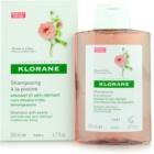 Klorane Peony champú de efecto calmante para cuero cabelludo sensible