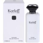 Korloff In White Eau de Toilette for Men 88 ml