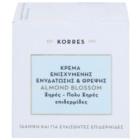 Korres Face Almond Blossom crème hydratante et nourrissante pour peaux sèches à très sèches