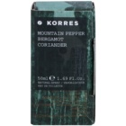 Korres Mountain Pepper, Bergamot & Coriander Eau de Toilette for Men 50 ml