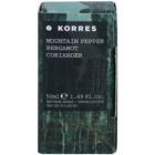 Korres Mountain Pepper, Bergamot & Coriander eau de toilette per uomo 50 ml