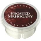 Kringle Candle Frosted Mahogany illatos viasz aromalámpába 35 g