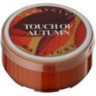 Kringle Candle Touch of Autumn čajová sviečka 35 g