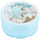 Kringle Candle Coconut Snowflake čajová svíčka 35 g