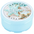 Kringle Candle Coconut Snowflake vela do chá 35 g
