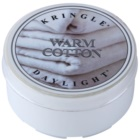 Kringle Candle Warm Cotton čajna sveča 35 g
