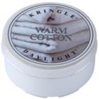 Kringle Candle Warm Cotton čajová svíčka 35 g