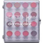 Kryolan Dermacolor Light paletka 16 odstínů rtěnek