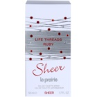 La Prairie Life Threads Sheer Ruby Eau de Toilette for Women 50 ml