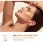 Lancaster Sun Control creme bronzeador para rosto com efeito antirrugas SPF 50+