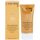 Lancôme Soleil Bronzer krema za sunčanje protiv starenja kože lica SPF 50