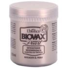 L'biotica Biovax Glamour Pearl regenerační maska pro hydrataci a lesk