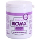 L'biotica Biovax Dark Hair máscara capilar intensiva para hidratação e brilho