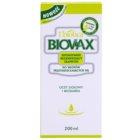 L'biotica Biovax Dull Hair ošetrujúci a posilňujúci šampón pre mastné vlasy a vlasovú pokožku