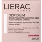 Lierac Deridium krem nawilżający na dzień i na noc z efektem przeciwzmarszczkowym  do cery normalnej i mieszanej