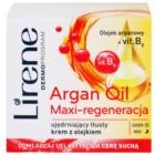 Lirene Essential Oils Argan intenzívny regeneračný krém pre suchú pleť