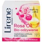Lirene Essential Oils Rose výživný vyhladzujúci krém pre zrelú pleť