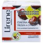 Lirene Moisture & Nourishment lahka osvežilna vlažilna krema s češnjo in limono