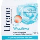 Lirene Sensitive Skin vlažilna krema s hialuronsko kislino