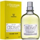 L'Occitane Cedrat eau de toilette pour homme 100 ml