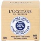 L'Occitane Karité hranilna in pomirjevalna krema za kožo obraza