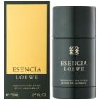 Loewe Esencia Loewe deostick pro muže 75 ml