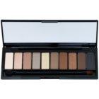 L'Oréal Paris Color Riche La Palette Nude paleta senčil za oči z ogledalom in aplikatorjem