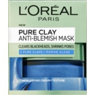 L'Oréal Paris Pure Clay máscara anticravos