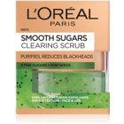 L'Oréal Paris Smooth Sugars Scrub peeling oczyszczający  przeciw zaskórnikom