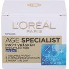 L'Oréal Paris Age Specialist 35+ Nachtcreme gegen Falten