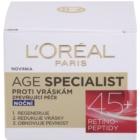 L'Oréal Paris Age Specialist 45+ Nachtcreme gegen Falten