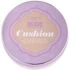 L'Oréal Paris Nude Magique Cushion burete cu machiaj lichid iluminator