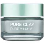 L'Oréal Paris Pure Clay mascarilla limpiadora matificante