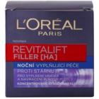 L'Oréal Paris Revitalift Filler crema de noche efecto relleno antienvejecimiento