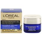 L'Oréal Paris Nutri-Gold rozjasňujúcí nočný krém s intenzitou masky