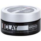 L'Oréal Professionnel Homme 5 Force Clay pasta modelująca mocno utrwalający
