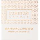 Luminum Candle Premium Aromatic Sandalwood vonná svíčka    (Ø 60 mm, 15 h)
